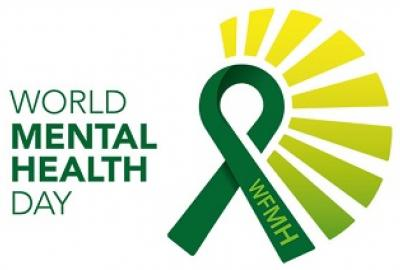 Image of Mental Health, World Mental Health Day Brand logo