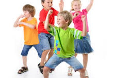 Image of children dancing and having fun