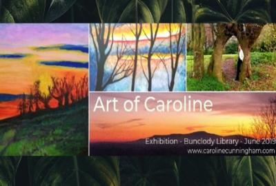 Featured Art Exhibition by Caroline Cunningham