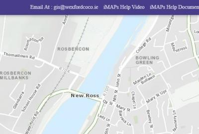 Maps and Data of Wexford with Wexford County Council's GIS Team