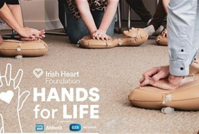 CPR Hands For Life Classes with the Irish Heart Foundation