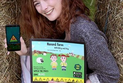 Family Time at Your Library event – Hazard Farm Special Storytime and App Workshop