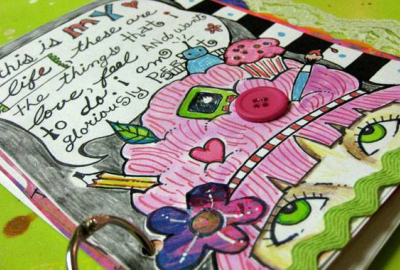 Junk art journals wexford county council find out how to make your own junk art journal out of recycled cereal boxes and paper ccuart Images