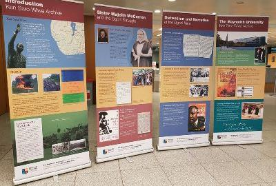 Image of the Ken-Saro Wiwa Exhibition - Featured Exhibition in Bunclody library for the month of August