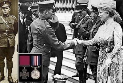 Martin Doyle, British hero and Irish freedom fighter: 100th anniversary of the Victoria Cross Award