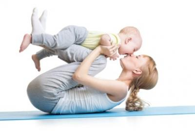 Mother and Baby Yoga with Vivian Brody Hayes