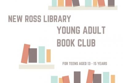 Image of Teenage Book Club - The Pass It On Young Adult Book Club poster