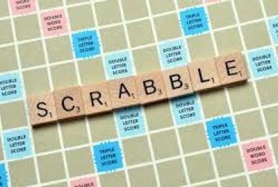 Image of scrabble board