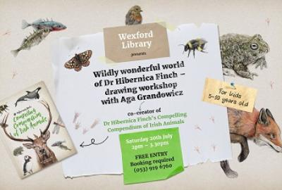 Wildly Wonderful World of Dr Hibernica Finch Drawing Workshop