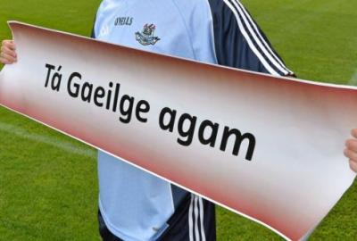 Image of I speak Irish Sign -  Ta Gaeilge agam