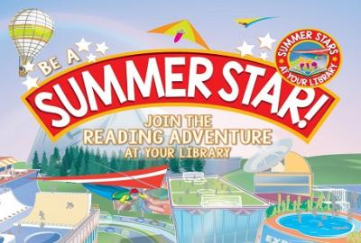 Summer Stars Reading Adventure is taking place now at your local library!