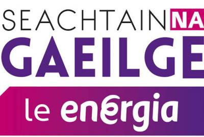 Image Seachtain na Gaeilge poster
