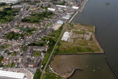 Trinity Wharf Aerial Shot