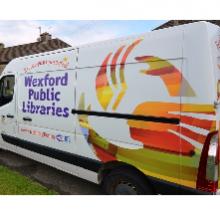 Homebound Library Service Van