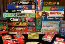 Image of board games for Family Games Club on Saturday 10th & 24th of August from 3.00pm - 5.00pm.