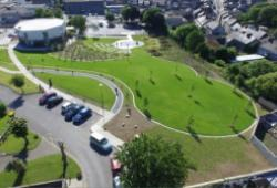 Photo of New Ross Library and Library Park, Wexford.
