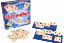 Image of the game Rummikub played every Thursday in New Ross Library