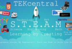 Image of TEKcentral poster for Build a Micro:Bit Weather Station with Tekcentral