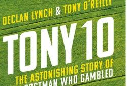 Image of book cover Tony 10 by Declan Lynch and Tony O'Reilly