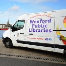 Homebound Library Service Van