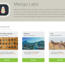 Mango Labs Screenshot