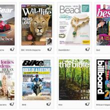 zinio magazine screenshot